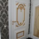 Ручка дверная на розетке E. Cassina - Италия