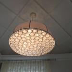 Ванная комната. Подвесной светильник STIL.LUX GLI ARGENTI арт.8100s70, Италия - крупный план