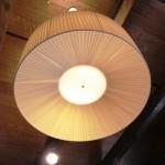 Игровая комната. Подвесной светильник MASIERO арт. ROUND S2 70, Италия.