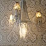 Спальня. Подвесной светильник PATRIZIA GARGANTI арт. PG009, Италия